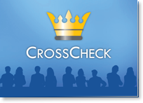 CrossCheck Booklet Cover